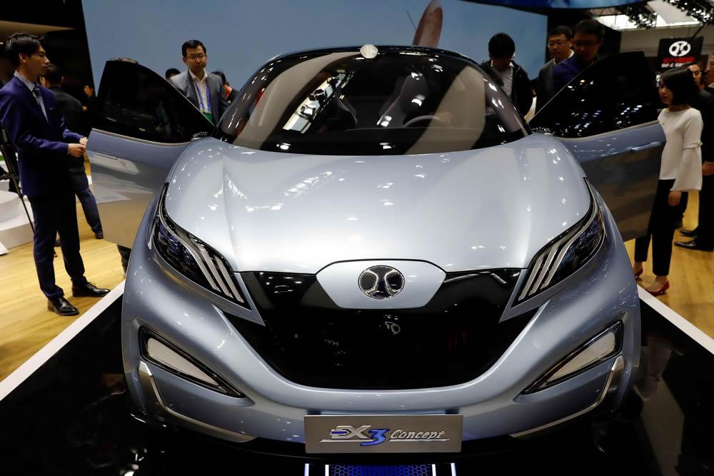 Международная выставка автомобилей проходит в Китае