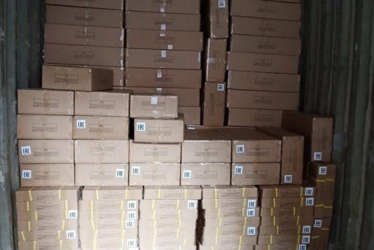 Доставка фурнитуры из Шанхая в Новосибирск