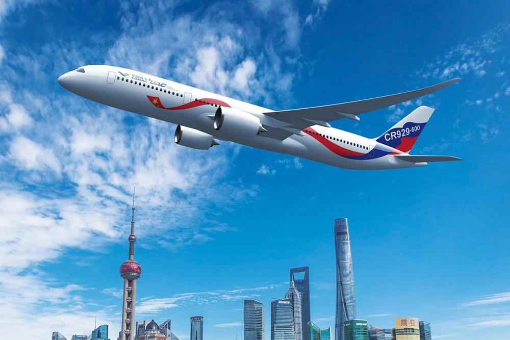 Состоялась презентация полномасштабного макета российско-китайского самолета CR 929